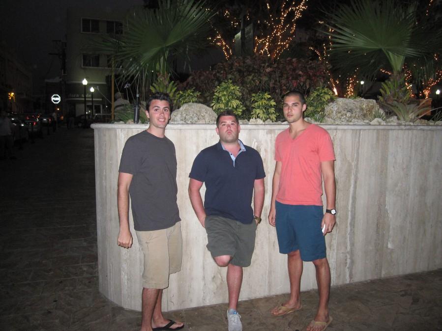 three dudes in PR