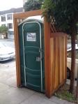 nice porta potty-front