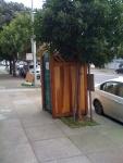 nice porta potty-right side