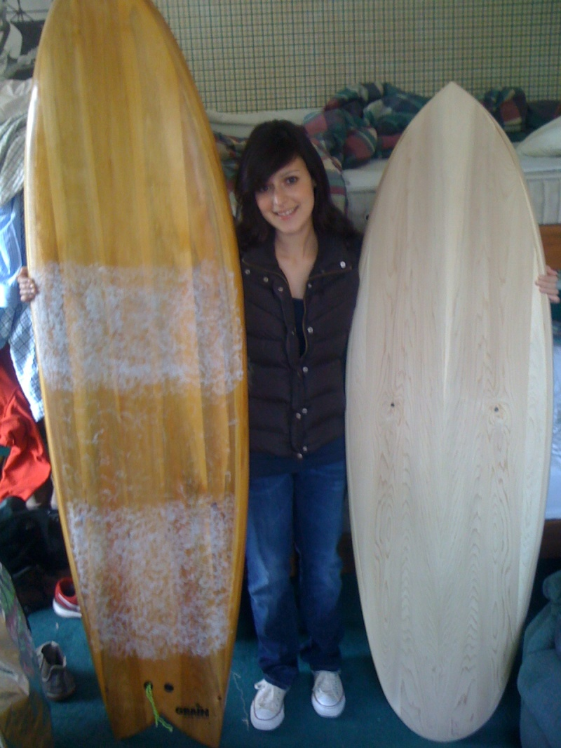 how to make a wooden fish surfboard