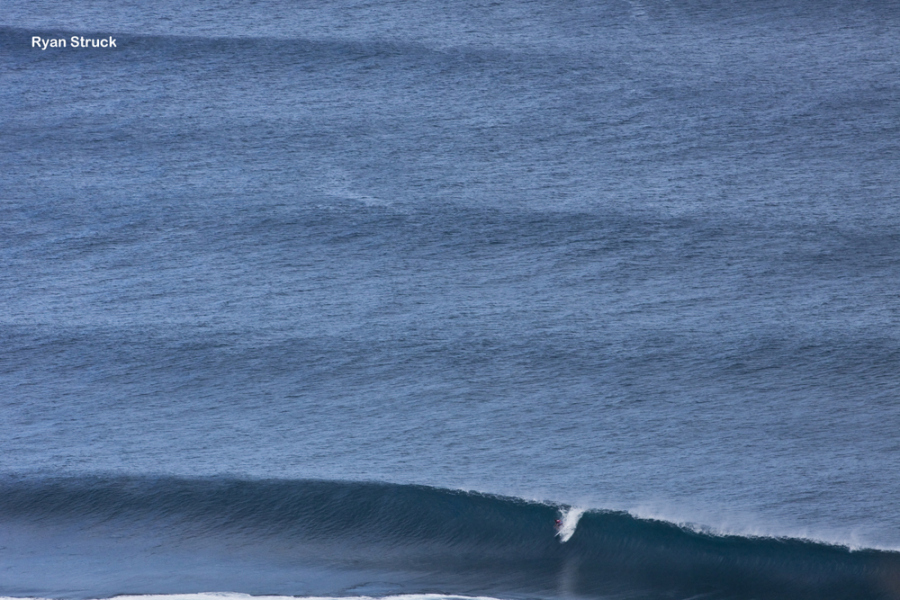 dane reynolds 9.5 at the second day at pipemasters
