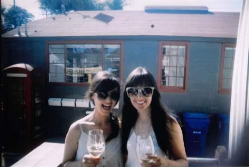 girls and wine
