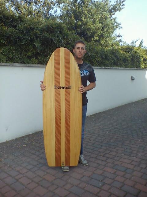 silvio wooden board